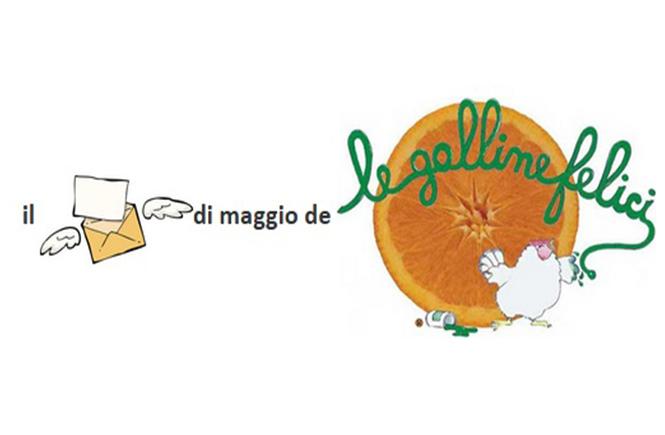 """il (secondo) """"pizzino"""" di maggio 2018 de Le Galline Felici"""