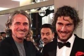 Gli applausi della mostra del cinema per Franco e Andrea Antonello